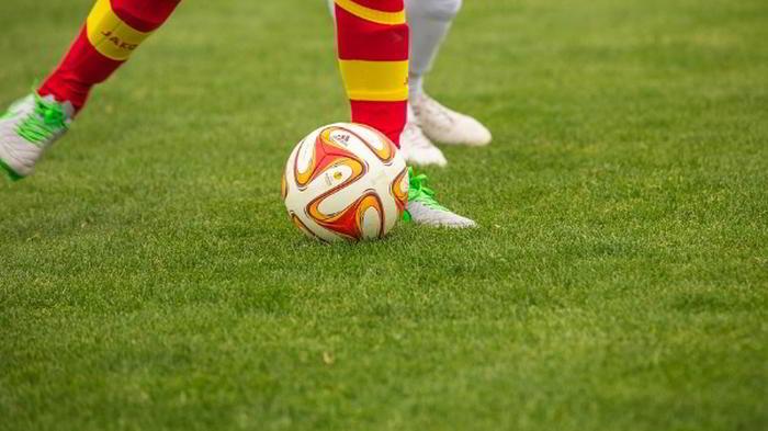 Singelspel Fotboll Bild