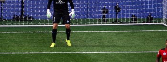 Leicester Schmeichel spelar bild