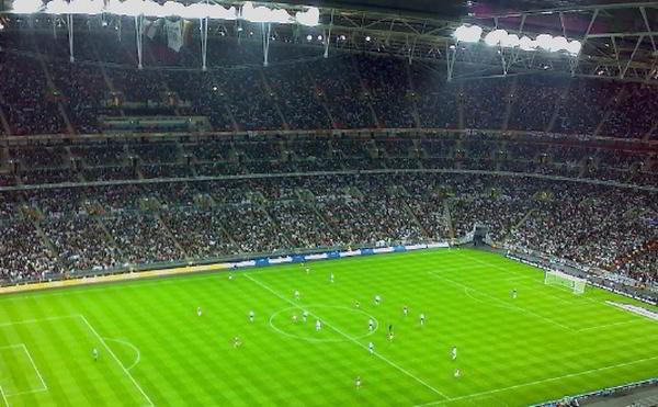 Wembley Stadion i London