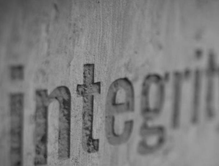 Bild på integritet